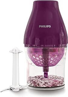 Philips Kitchen HR2505/72 MultiChopper with Chop Drop Technology, Purple (Renewed)