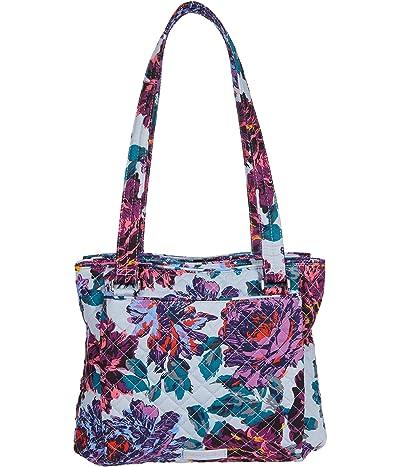Vera Bradley Multi-Compartment Shoulder Bag (Neon Blooms) Handbags