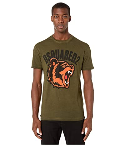 DSQUARED2 Best Fade Cool Fit T-Shirt (Green) Men