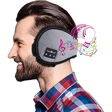 イヤーマフ メンズ 防寒 Bluetooth 耳あて 冬用イヤーウォーマー レディース ステレオ再生 通勤 通学 アウトドア お出かけ スポーツに対応