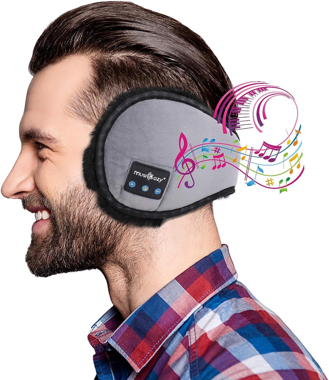 Bluetooth Ear Warmers Ear Muffs LC-dolida Earmuffs Built-in HD Speakers for Winter