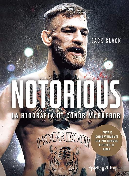 Notorious. la biografia di conor mcgregor (italiano) copertina flessibile  sperling & kupfer 978-8820067861