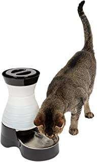 PetSafe Healthy Pet Water Station Dog and Cat Water System with Stainless Steel Bowl
