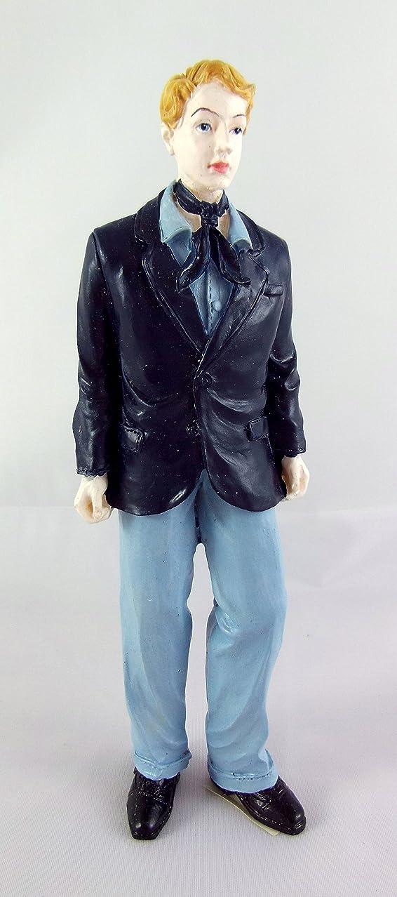 滑り台希望に満ちたマッサージドールハウスミニチュア1?: 12スケールDan Young Man in Suit # t8243