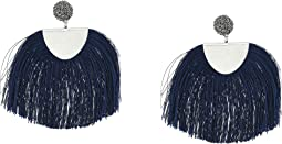 Lucky Brand - Blue Fringe Earrings