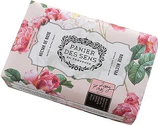Panier des Sens The Authentic Shea Butter Soap, Rose Nectar, 7 Ounce