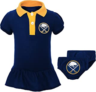 NHL Newborn & Infant Little Prep Polo & Diaper Cover Set