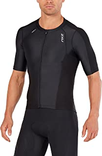 Mens Compression Sleeved Tri Top