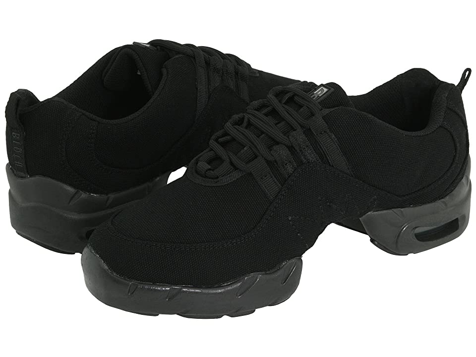 Vintage Dance Shoes- Where to Buy Them Bloch Canvas Boost Black Lace up casual Shoes $64.00 AT vintagedancer.com