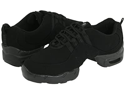 Bloch Canvas Boost (Black) Lace up casual Shoes