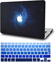 """KECC Laptop Case for MacBook Pro 13"""" (2020) w/Keyboard Cover Plastic Hard Shell A2338 M1 A2289 A2251 Touch Bar 2 in 1 Bund..."""