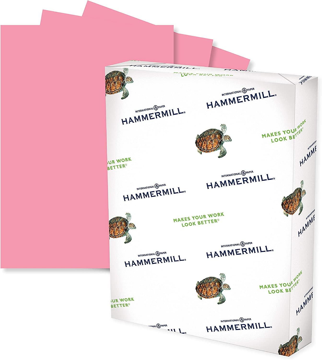 Hammermill Colored Paper, 20 lb Tan Printer Paper, 8.5 x 11-10 Ream (5,000 Sheets) - Made in the USA, Pastel Paper, 102863C : Multipurpose Paper : Office Products