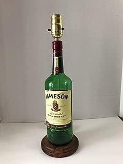Jameson Liquor Lamp Irish Whiskey Bottle Lamp