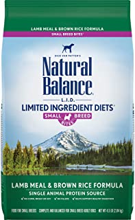 Best natural balance small breed bites lamb and brown rice Reviews