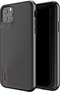 Gear4 Battersea Compatible with iPhone 11 Pro Max Case, Advanced Impact Protection with Integrated D3O Technology Phone Cover - Black