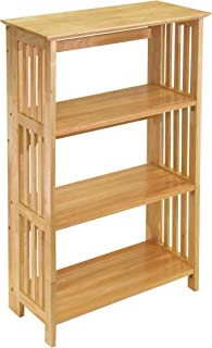 Winsome Wood 82427 Mission Shelving, Natural