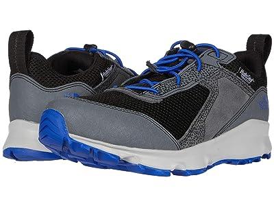 The North Face Kids Hedgehog Hiker II Waterproof (Little Kid/Big Kid) (Zinc Grey/TNF Black) Boys Shoes