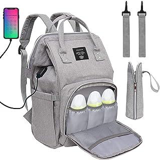 Baby Diaper Bag Backpack, Multi-Function Waterproof
