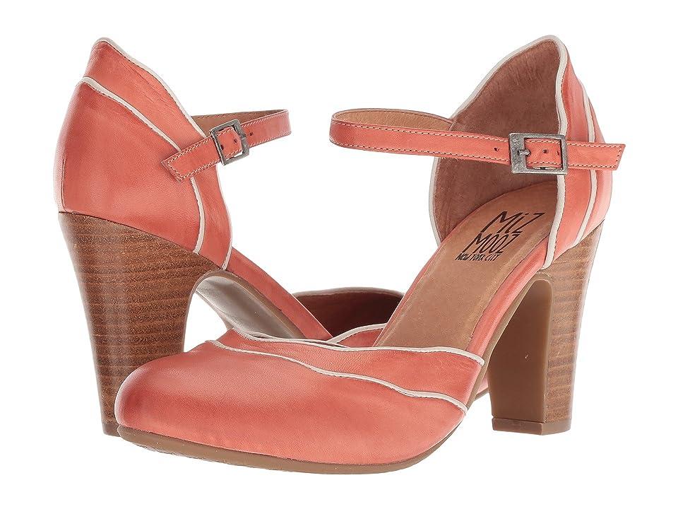Miz Mooz Jagger (Coral) High Heels