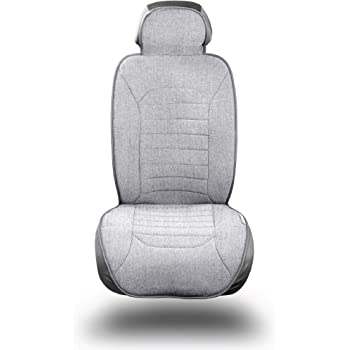 S- tech automotive SEAT Leon Cupra 14-ON Seat Covers//Protectors 1+1 Grey | Water Resistant Front Heavy Duty