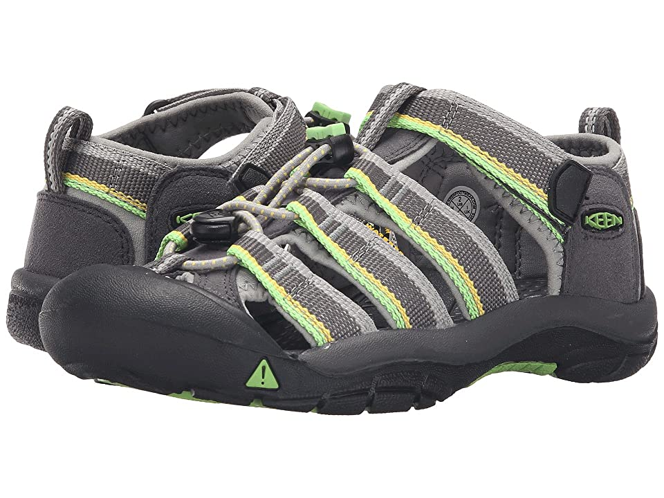 Keen Kids Newport H2 (Little Kid/Big Kid) (Racer Gray) Kids Shoes