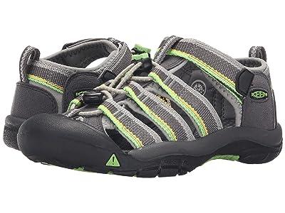 Keen Kids Newport H2 (Little Kid/Big Kid) (Racer Gray) Kids Shoes