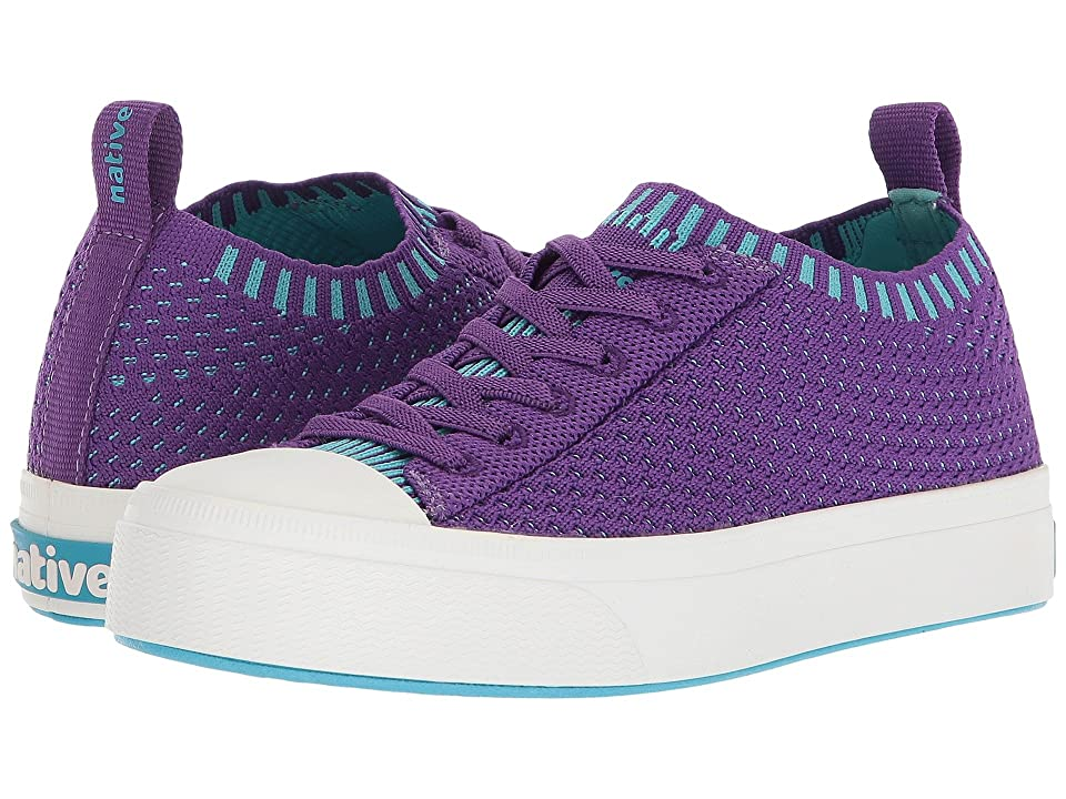Native Kids Shoes Jefferson 2.0 Liteknit (Little Kid) (Starfish Purple/Shell White) Girls Shoes