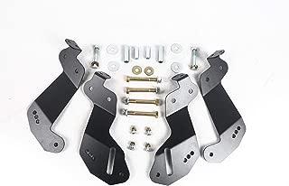 Poison Frog PK8234 JK Geometry Correction Front Control Arm Drop Brackets For Jeep Wrangler JK