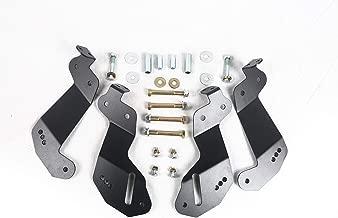 POISON FROG PK8234 JK Geometry Correction Front Control Arm Drop Brackets For 2007-2018 Jeep Wrangler JK
