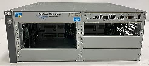 HP J8697A ProCurve switch 5406zl w/ J8712A Power Supply 6x Open Bays +Rack Ears