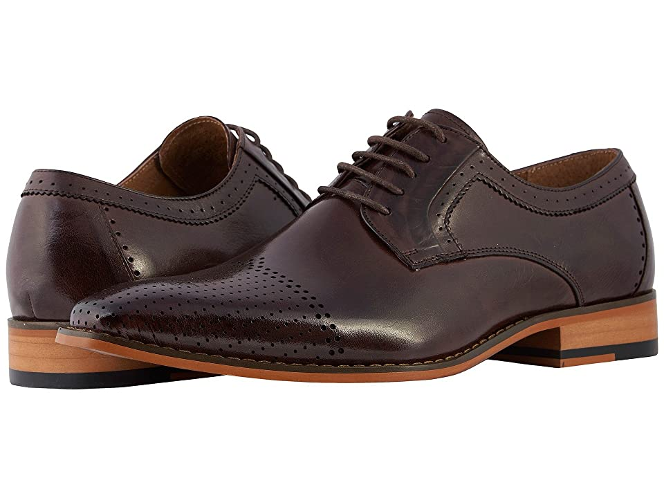 Stacy Adams Sanborn Cap Toe Oxford (Burgundy) Men