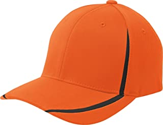 Flexfit Performance Colorblock Baseball Cap STC16 XS Deep Orange/Black