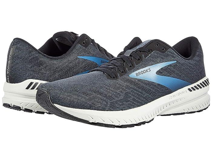 Brooks Ravenna 11 (Ebony/Black/Stellar) Men's Running Shoes