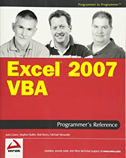 Best excel 2007 vba reference Reviews