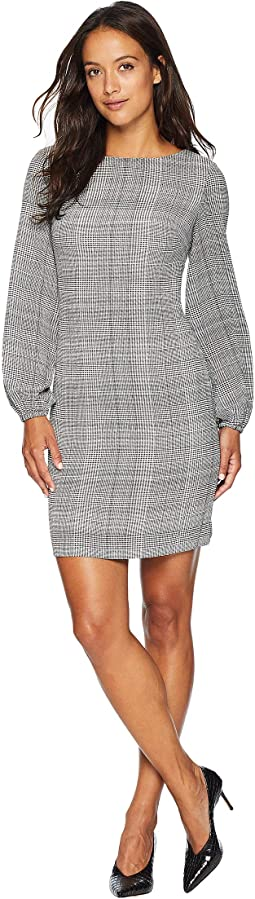 Petite Hollyann Long Sleeve Day Dress