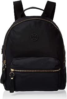 Tory Burch Tilda Nylon ZIp Backpack- Black