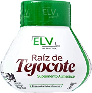 Original ELV Alipotec Tejocote Root Treatment - 1 Bottle (3 Month Treatment) - Most Popular, All-Natural Weight Loss Supplement in Mexico