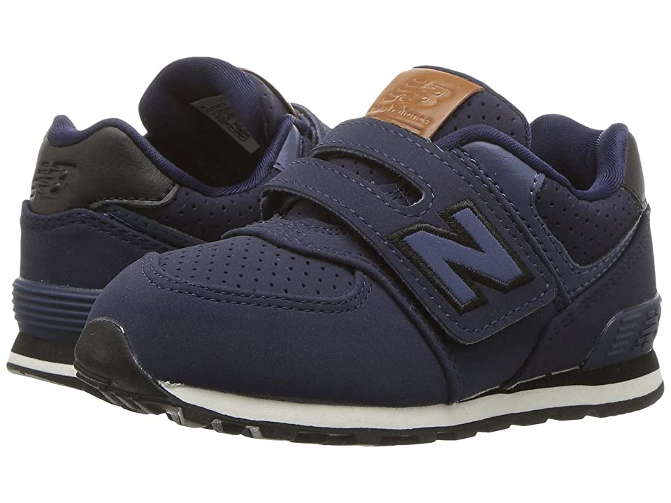 New Balance Kids KV574v1 (Infant/Toddler) (Blue/Black) Boys Shoes