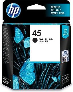 HP 51645AE 45 Large Original Ink Cartridge, Black, Single Pack