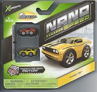 Nano Speed Nano Super Car Cars- 2 pack(Colors & Styles Vary)