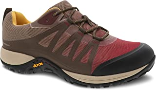 Dansko Women's Phylicia Walnut Waterproof Sneaker 7.5-8 M US
