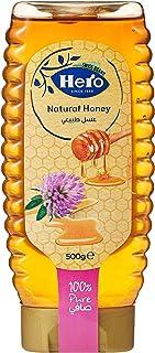 Hero Honey Natural Squeeze Bottle, 500 gm