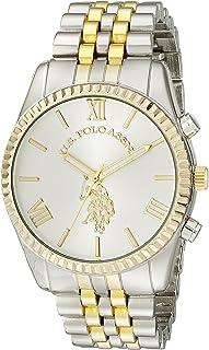 U.S. Polo Assn. Womens USC40057 Two-Tone Bracelet Watch