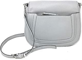 Women's Shoulder Bag Style #M0013046 Pebbled Leather, Light Grey