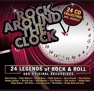 Rock Around the Clock: 24 Legends of Rock & Roll - 480 Original Recordings