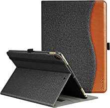 Ztotop Case for iPad Air (3) 10.5 2019 & iPad Pro 10.5 2017,Premium Leather Business Folio Cover for iPad 10.5 Inch 2019/2017,with Stand,Pocket and Auto Wake/Sleep Function,Multi-angle,Denim Black