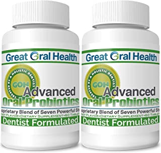 Sponsored Ad - Great Oral Health Oral Probiotics - Attack Bad Breath, Gum Disease and Build Strong Oral Health- All Natura...