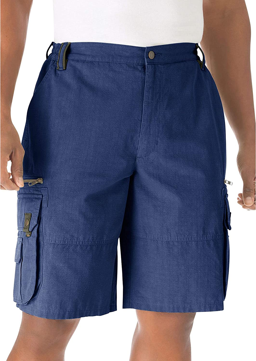 Boulder Creek by Max 78% OFF Kingsize Men's Ripstop Tall Cargo Shorts Translated Big