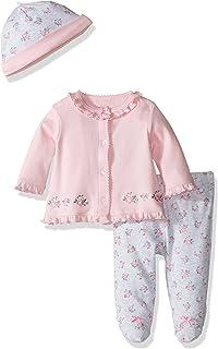 Little Me Baby Girls' 3 Piece Cardigan Set