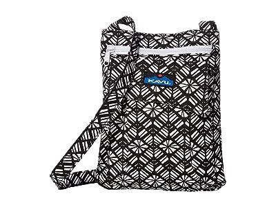 KAVU Keeper (Static Rhombus) Cross Body Handbags